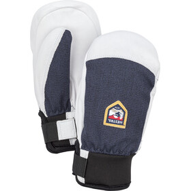 Hestra Army Leather Patrol Mittens Kids, navy